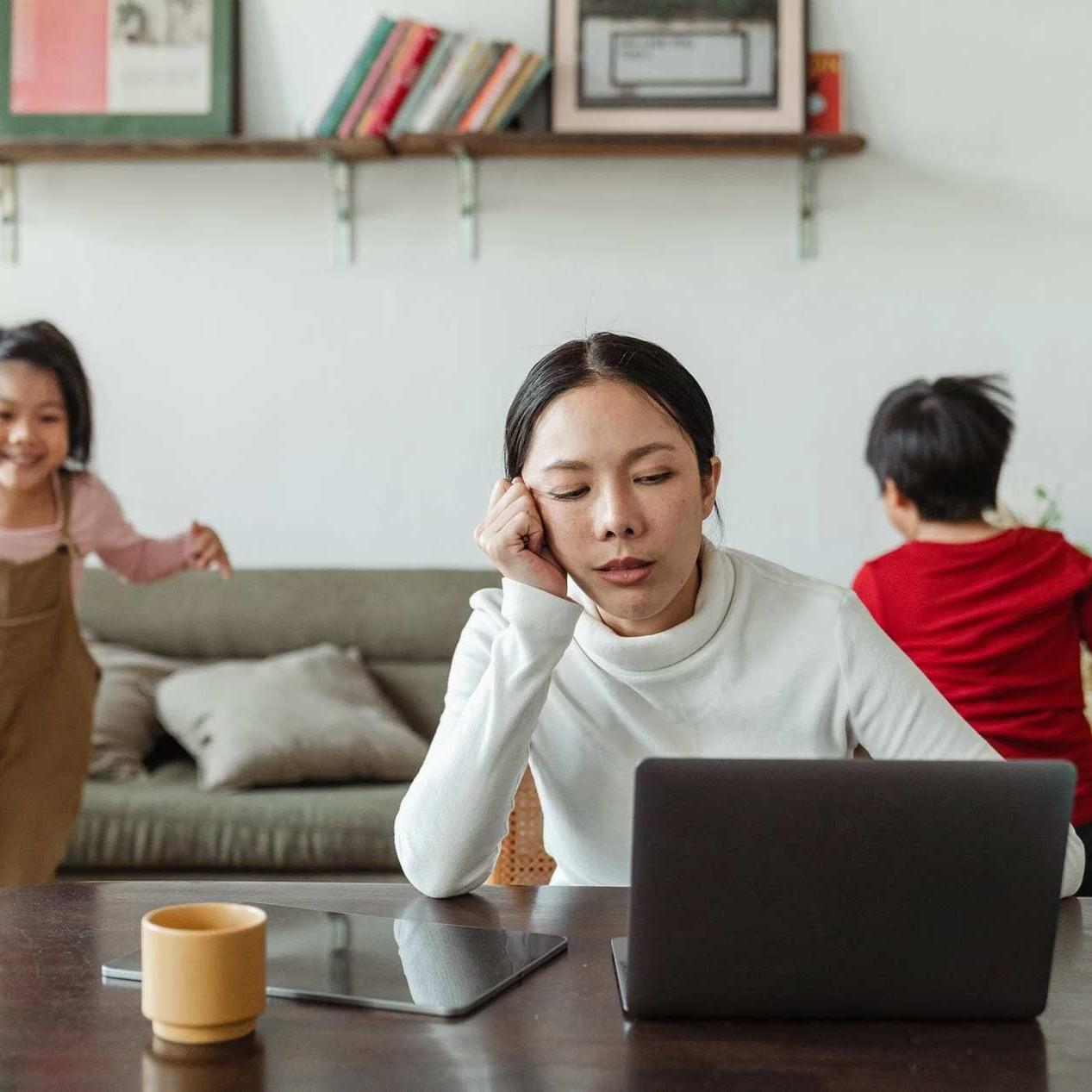 Teleworking Challenges & Children
